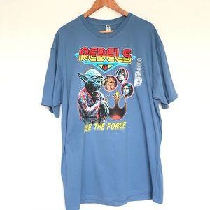 Star Wars Shirt Blue Shirt NWT